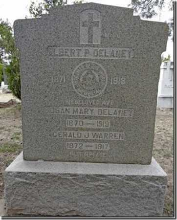 WARREN DELANEY, SUSAN - Yavapai County, Arizona | SUSAN WARREN DELANEY - Arizona Gravestone Photos