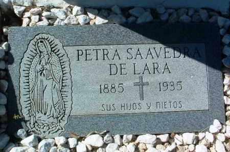 SAAVEDRA DE LARA, PETRA - Yavapai County, Arizona | PETRA SAAVEDRA DE LARA - Arizona Gravestone Photos