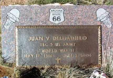DELGADILLO, JUAN V. - Yavapai County, Arizona | JUAN V. DELGADILLO - Arizona Gravestone Photos