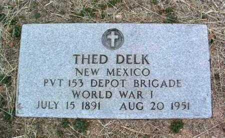 DELK, THEO - Yavapai County, Arizona | THEO DELK - Arizona Gravestone Photos