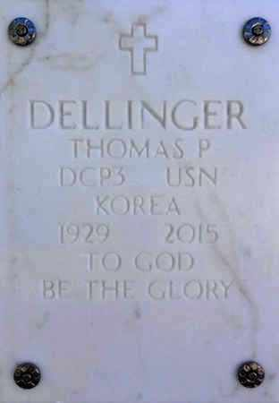 DELLINGER, THOMAS PAUL - Yavapai County, Arizona   THOMAS PAUL DELLINGER - Arizona Gravestone Photos