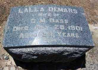 BASS, DORELLA ANDRINA - Yavapai County, Arizona | DORELLA ANDRINA BASS - Arizona Gravestone Photos