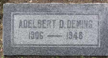 DEMING, ADELBERT DOUGLAS - Yavapai County, Arizona | ADELBERT DOUGLAS DEMING - Arizona Gravestone Photos