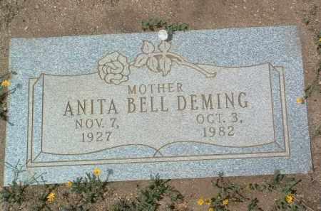 BELL DEMING, ANITA - Yavapai County, Arizona   ANITA BELL DEMING - Arizona Gravestone Photos