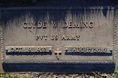 DEMING, CLYDE WILLIAM, JR. - Yavapai County, Arizona | CLYDE WILLIAM, JR. DEMING - Arizona Gravestone Photos