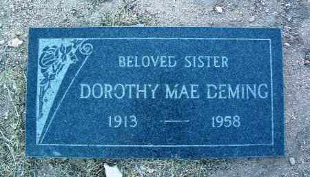 DEMING, DOROTHY MAE - Yavapai County, Arizona   DOROTHY MAE DEMING - Arizona Gravestone Photos