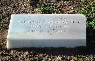 MCCARTHY DEMPSEY, M. - Yavapai County, Arizona | M. MCCARTHY DEMPSEY - Arizona Gravestone Photos