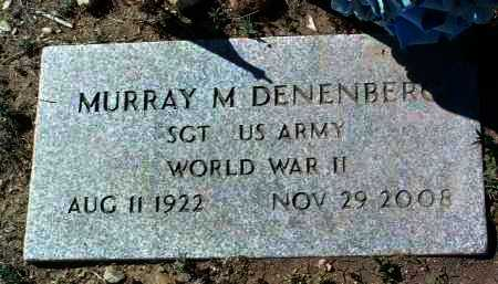DENENBERG, MURRAY M. - Yavapai County, Arizona | MURRAY M. DENENBERG - Arizona Gravestone Photos