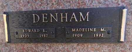 BOYLE DENHAM, MADELINE - Yavapai County, Arizona | MADELINE BOYLE DENHAM - Arizona Gravestone Photos