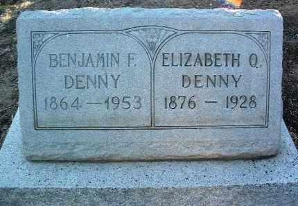 DENNY, ELIZABETH QUINCY - Yavapai County, Arizona | ELIZABETH QUINCY DENNY - Arizona Gravestone Photos