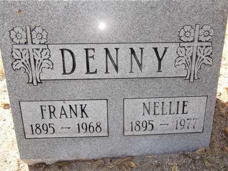 DENNY, FRANK EDWARD - Yavapai County, Arizona   FRANK EDWARD DENNY - Arizona Gravestone Photos