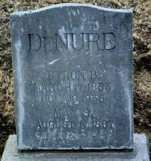 DE NURE, MAY S. - Yavapai County, Arizona | MAY S. DE NURE - Arizona Gravestone Photos