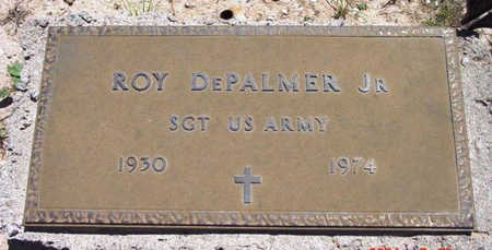 DEPALMER, ROY, JR. - Yavapai County, Arizona | ROY, JR. DEPALMER - Arizona Gravestone Photos