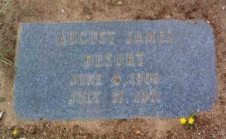 DESORT, AUGUST JAMES - Yavapai County, Arizona | AUGUST JAMES DESORT - Arizona Gravestone Photos