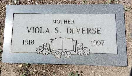 DEVERSE, VIOLA S. - Yavapai County, Arizona   VIOLA S. DEVERSE - Arizona Gravestone Photos