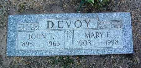 DEVOY, JOHN THOMAS - Yavapai County, Arizona | JOHN THOMAS DEVOY - Arizona Gravestone Photos