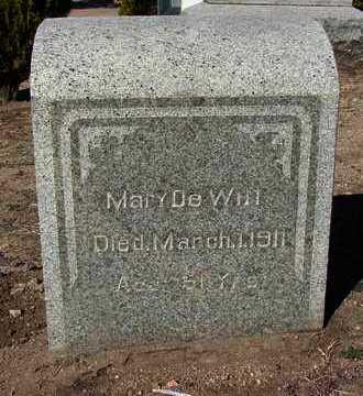 DEWITT, MARY - Yavapai County, Arizona | MARY DEWITT - Arizona Gravestone Photos