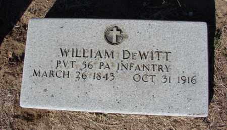 DEWITT, WILLIAM - Yavapai County, Arizona | WILLIAM DEWITT - Arizona Gravestone Photos