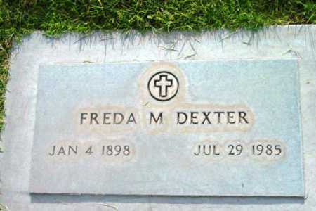 MUTCHLER DEXTER, FREDA LORRAINE - Yavapai County, Arizona | FREDA LORRAINE MUTCHLER DEXTER - Arizona Gravestone Photos