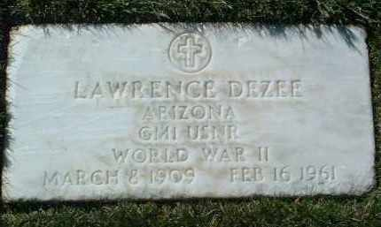 DEZEE, LAWRENCE - Yavapai County, Arizona | LAWRENCE DEZEE - Arizona Gravestone Photos