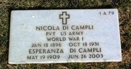 DI CAMPLI, NICOLA - Yavapai County, Arizona | NICOLA DI CAMPLI - Arizona Gravestone Photos