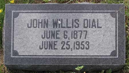 DIAL, JOHN WILLIS - Yavapai County, Arizona   JOHN WILLIS DIAL - Arizona Gravestone Photos