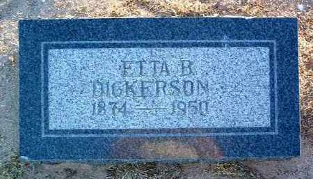FRETWELL DICKERSON, ETTA BELLE - Yavapai County, Arizona | ETTA BELLE FRETWELL DICKERSON - Arizona Gravestone Photos