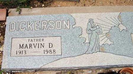 DICKERSON, MARVIN D. - Yavapai County, Arizona | MARVIN D. DICKERSON - Arizona Gravestone Photos