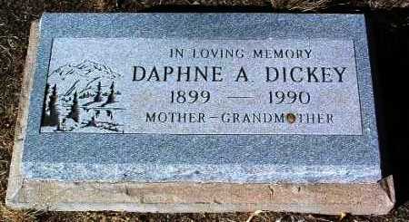 DICKEY, DAPHNE A. - Yavapai County, Arizona | DAPHNE A. DICKEY - Arizona Gravestone Photos