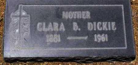 DICKIE, CLARA BLANCHE - Yavapai County, Arizona | CLARA BLANCHE DICKIE - Arizona Gravestone Photos