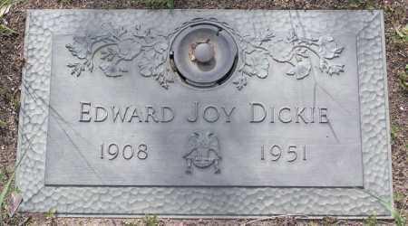 DICKIE, EDWARD JOY - Yavapai County, Arizona   EDWARD JOY DICKIE - Arizona Gravestone Photos