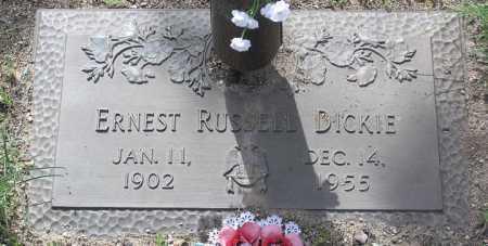 DICKIE, ERNEST RUSSELL - Yavapai County, Arizona | ERNEST RUSSELL DICKIE - Arizona Gravestone Photos