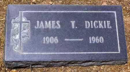 DICKIE, JAMES THOMAS - Yavapai County, Arizona | JAMES THOMAS DICKIE - Arizona Gravestone Photos