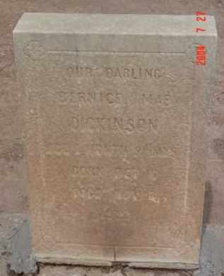 DICKINSON, BERNICE MAE - Yavapai County, Arizona | BERNICE MAE DICKINSON - Arizona Gravestone Photos