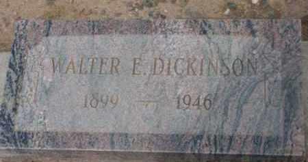 DICKINSON, WALTER EDWIN - Yavapai County, Arizona   WALTER EDWIN DICKINSON - Arizona Gravestone Photos
