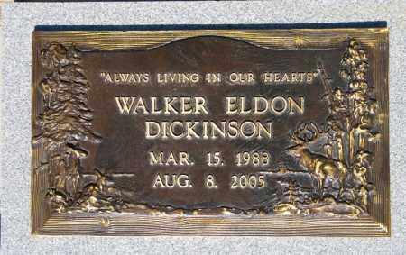 DICKINSON, WALKER ELDON - Yavapai County, Arizona   WALKER ELDON DICKINSON - Arizona Gravestone Photos