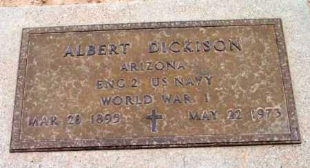 DICKISON, ALBERT MARION - Yavapai County, Arizona | ALBERT MARION DICKISON - Arizona Gravestone Photos
