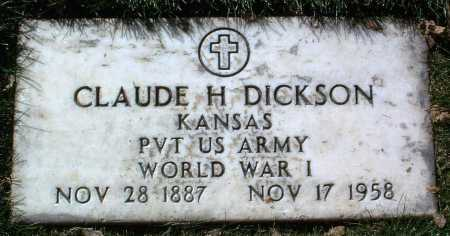 DICKSON, CLAUDE HENRY - Yavapai County, Arizona | CLAUDE HENRY DICKSON - Arizona Gravestone Photos