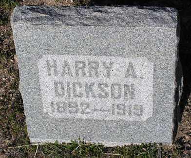 DICKSON, HARRY A - Yavapai County, Arizona | HARRY A DICKSON - Arizona Gravestone Photos