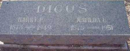 LAWRENCE DICUS, MATILDA - Yavapai County, Arizona | MATILDA LAWRENCE DICUS - Arizona Gravestone Photos