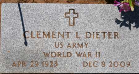 DIETER, CLEMENT LEROY - Yavapai County, Arizona | CLEMENT LEROY DIETER - Arizona Gravestone Photos