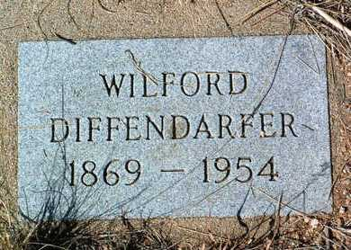 DIFFENDARFER, WILFORD H. - Yavapai County, Arizona | WILFORD H. DIFFENDARFER - Arizona Gravestone Photos