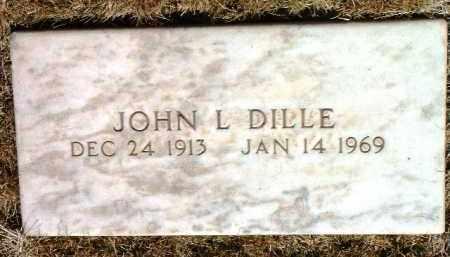 DILLE, JOHN L. - Yavapai County, Arizona | JOHN L. DILLE - Arizona Gravestone Photos
