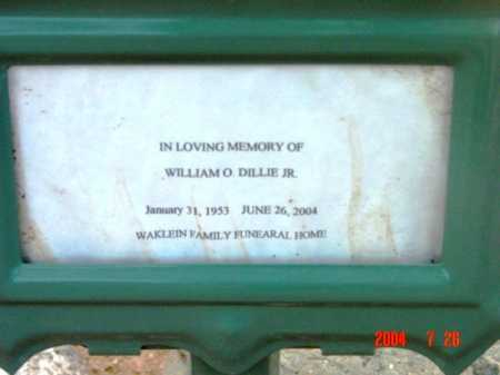 DILLIE, WILLIAM O., JR. - Yavapai County, Arizona | WILLIAM O., JR. DILLIE - Arizona Gravestone Photos
