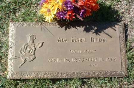 DILLON, ADA MABEL - Yavapai County, Arizona   ADA MABEL DILLON - Arizona Gravestone Photos