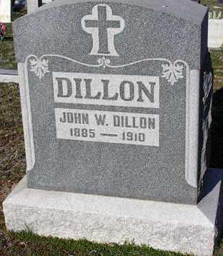 DILLON, JOHN W. - Yavapai County, Arizona   JOHN W. DILLON - Arizona Gravestone Photos
