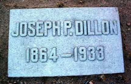 DILLON, JOSEPH P. - Yavapai County, Arizona   JOSEPH P. DILLON - Arizona Gravestone Photos