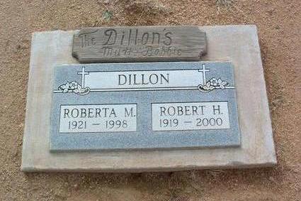 DILLON, ROBERTA M. - Yavapai County, Arizona | ROBERTA M. DILLON - Arizona Gravestone Photos
