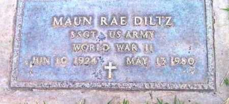 DILTZ, MAUN RAE - Yavapai County, Arizona | MAUN RAE DILTZ - Arizona Gravestone Photos