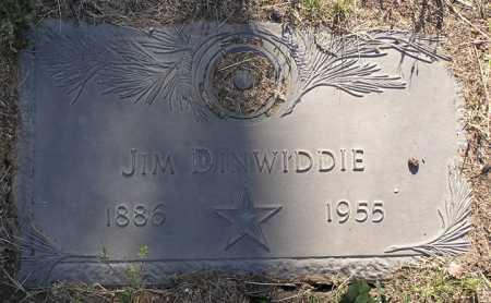 DINWIDDIE, JIM - Yavapai County, Arizona | JIM DINWIDDIE - Arizona Gravestone Photos